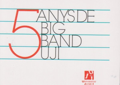 5 anys de big band UJI