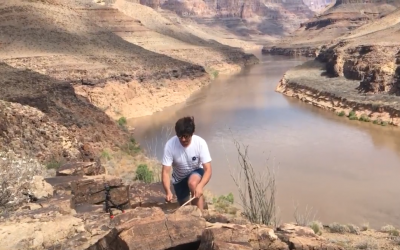 Drumming in the Grand Canyon